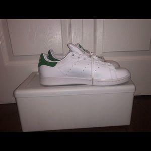 adidas Original white and green Stan Smith Sneaker